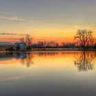Sunset Reflections by Kyle Wilson