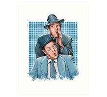 Abbott & Costello - Comic Timing Art Print