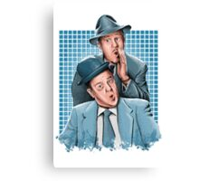 Abbott & Costello - Comic Timing Canvas Print