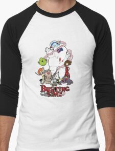 Busting Time Men's Baseball ¾ T-Shirt