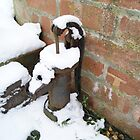 Old Water Pump In Winter  by KirstyJSwinger