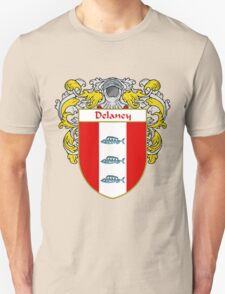 Delaney Coat of Arms/Family Crest T-Shirt