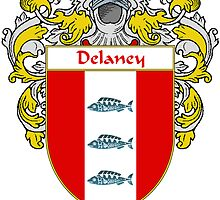 Delaney Coat of Arms/Family Crest by William Martin