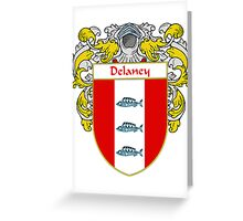 Delaney Coat of Arms/Family Crest Greeting Card