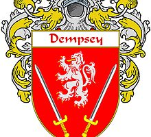 Dempsey Coat of Arms/Family Crest by William Martin