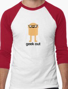 Adventure Time Geeky Jake Men's Baseball ¾ T-Shirt
