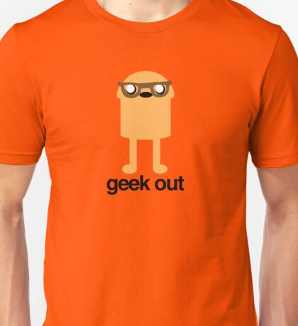 Adventure Time Geeky Jake Unisex T-Shirt