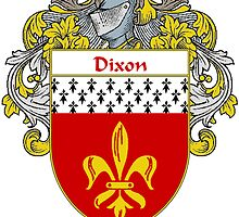 Dixon Coat of Arms/Family Crest by William Martin