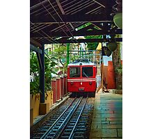 Corcovado Rack Railway at Station  Photographic Print