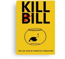 Kill Bill Minimalist Design Canvas Print