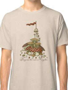 Fungi are their own Kingdom Grey Classic T-Shirt
