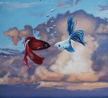 Sky like the ocean, aquatic skies by bamarts