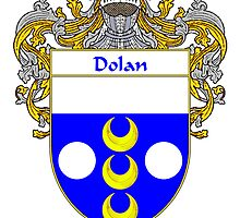 Dolan Coat of Arms/Family Crest by William Martin