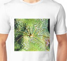 Arrow Crab on Green Star Coral Unisex T-Shirt