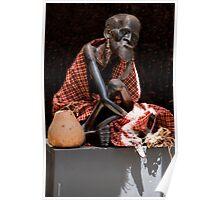 Masai Elder Poster