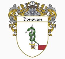 Donovan Coat of Arms/Family Crest by William Martin