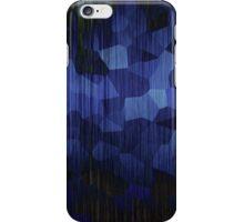 Dark Blue Spots iPhone Case/Skin