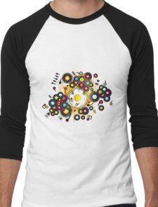 Funny_Fried_Egg Men's Baseball ¾ T-Shirt