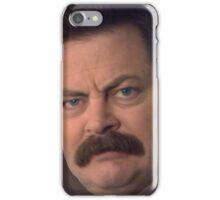 Ron Swanson iPhone Case/Skin