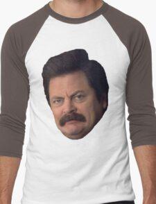 Ron Swanson Men's Baseball ¾ T-Shirt