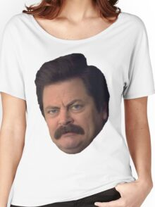 Ron Swanson Women's Relaxed Fit T-Shirt