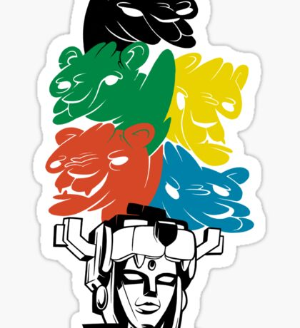 Force of the Lions Sticker