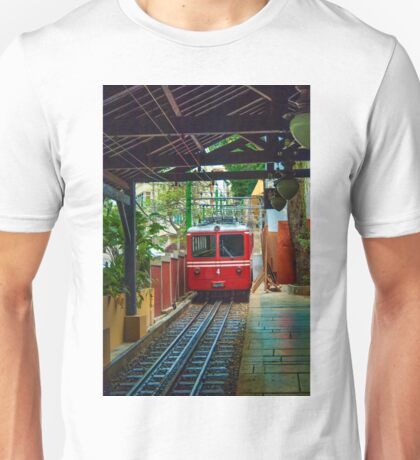 Corcovado Rack Railway at Station  Unisex T-Shirt