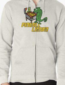 Pinball Lizard Zipped Hoodie