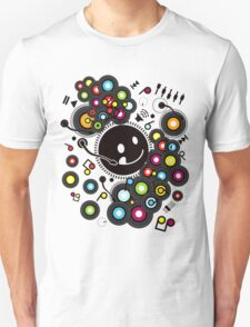 Happy_Music Unisex T-Shirt