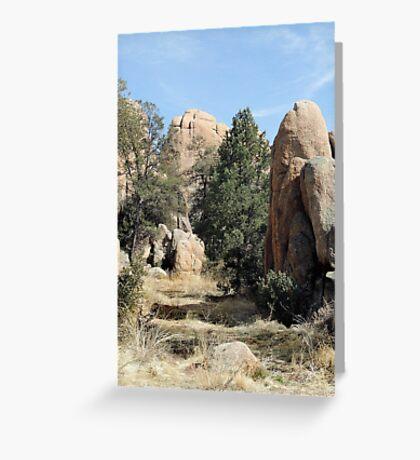 Prescott Boulders Greeting Card
