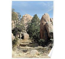 Prescott Boulders Poster