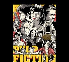 Pulp Fiction - Poster by kazkami