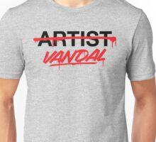 Vandal Not Artist (v2) Unisex T-Shirt