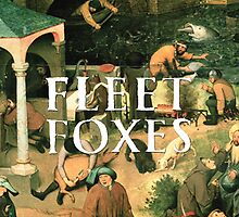 Fleet Foxes Album Cover by dellycartwright