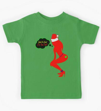 ټ♪♥Spank Me Santa, I've been Bad-Naughty-Fun X-Mas Clothing & Stickers♥♪ټ    Kids Tee