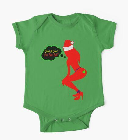 ټ♪♥Spank Me Santa, I've been Bad-Naughty-Fun X-Mas Clothing & Stickers♥♪ټ    One Piece - Short Sleeve