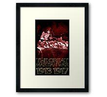 Martian War Framed Print