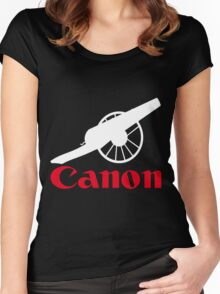 The power of canon Women's Fitted Scoop T-Shirt
