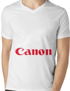 The power of canon Mens V-Neck T-Shirt