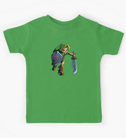 Link with shield Kids Tee