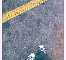 Stand Behind the Yellow Line by Ms-Bexy