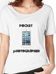 Pocket Photographer Women's Relaxed Fit T-Shirt