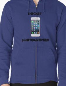 Pocket Photographer Zipped Hoodie