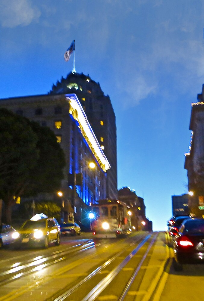 Golden San Francisco by David Denny