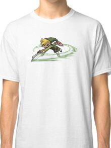 Link fighting with sword Classic T-Shirt