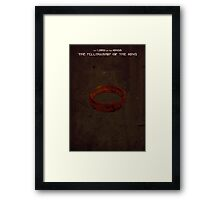 Lord of the Rings: The Fellowship of the Ring Framed Print