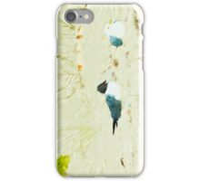 Gulls on the Beach Abstract Impressionism iPhone Case/Skin