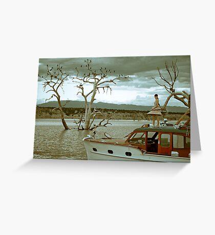 amongst trees Greeting Card