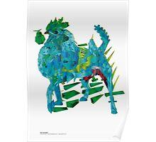 2in1. Rooster and dog. Hybrid (dont be foolish) Poster