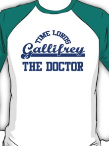 The Doctor Gallifrey Time Lords T-Shirt